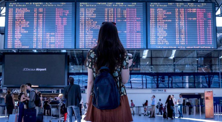 Girl Departure Board