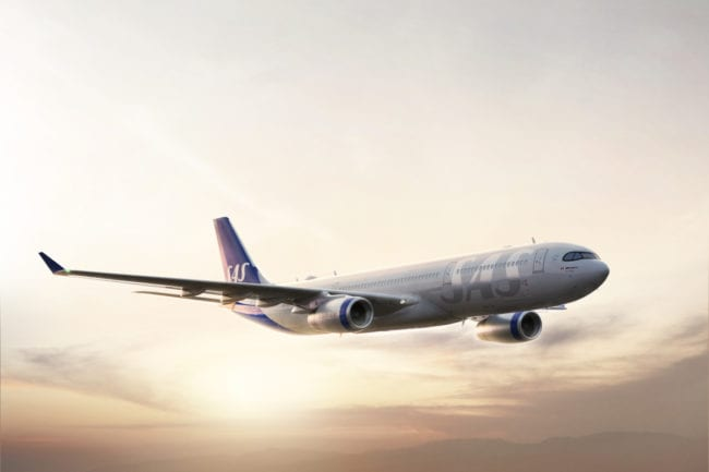 SAS Airbus A330