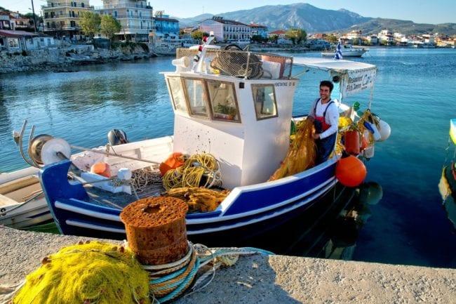 Fiskebåd - Samos