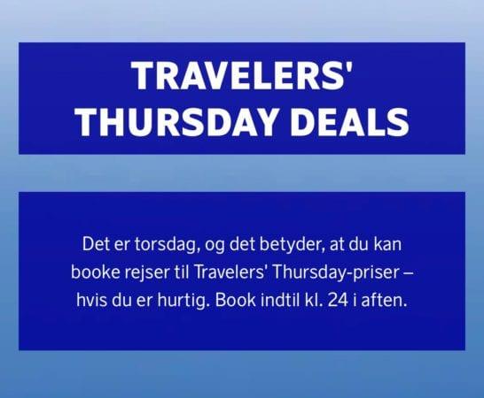 SAS - Kampagne - Travelers Thursday Deals
