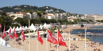 Strand i Cannes