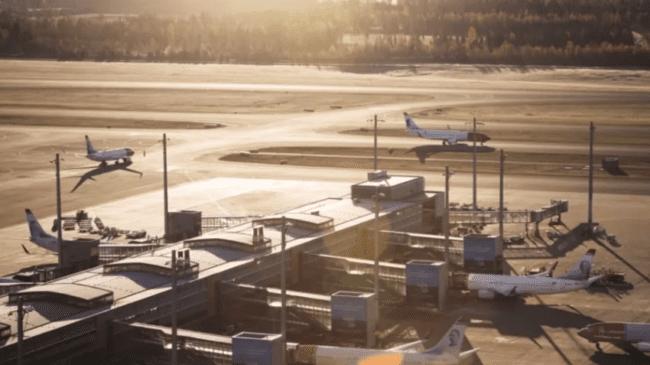 Norwegian in Oslo Airport