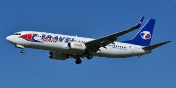 Travel Service Boeing 737 (OK-TVS)