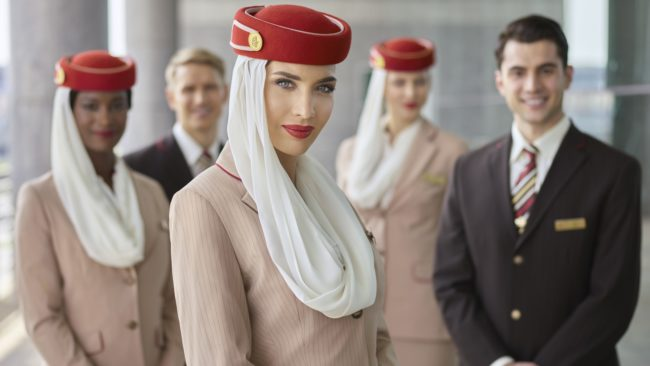 Emirates besætning